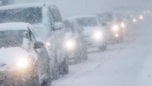 Автодороги Николаевской области остаются закрытыми для движения транспорта из-за обилия снега