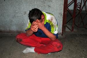 Безработный николаевец, совершивший убийство, при задержании напал с ножом на сотрудника государственной службы охраны