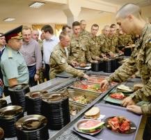 Минобороны планирует новые подходы в питание в армии
