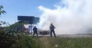Возле Авдеевки террористы обстреляли из гранатометов позиции украинских военных