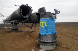 Крымские татары озвучили свою версию падения ЛЭП на границе с Крымом