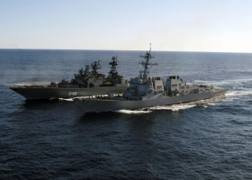 Латвия обнаружила у своих границ военный корабль России