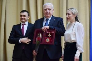 Скандальному ректору николаевской «аграрки» Шебанину вручили государственную награду