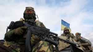 За сутки в зоне АТО ранен один украинский военный - штаб