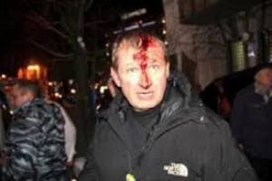 Видео с Банковой: как Беркут избивал людей