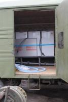 Николаевские волонтеры передали военным, участвующих в АТО, три полевых бытовых комплекса