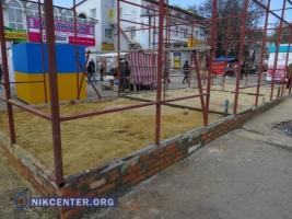 В Николаеве очередная стройка на остановке: главный архитектор не может выяснить владельца