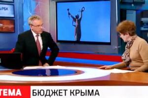 Российский телеканал «облажался» пустив правду о Крыме в прямой эфир