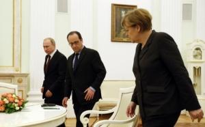 Олланд, Путин и Меркель решили доработать Минские соглашения