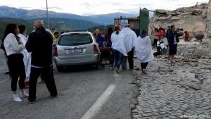 В Центральной Италии произошло землетрясение магнитудой 6,4 баллов