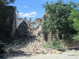 Одесские спасатели перестали искать людей под завалами дома Масонов