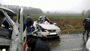 На Николаевщине по вине водителя госпитализировали трех пассажиров автомобиля