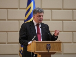 Порошенко заявил, что никаких переговоров по поводу изменения границ Украины быть не может