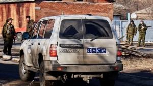 В ДНР террористы напали на представителей ОБСЕ