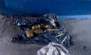 В Одессе возле Куликового поля нашли пакет с гранатами