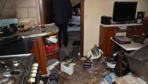 На Житомирщине пьяный мужчина взорвал дом во время разборок с женой