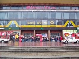 В Киеве из-за угрозы взрыва закрыта станция метро Крещатик