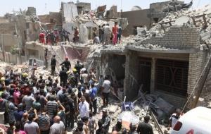 Самолет ВВС Ирака случайно сбросил бомбу на Багдад