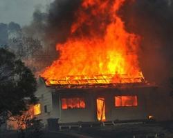 Житель Николаевщины убил свою знакомую и сжег её дом