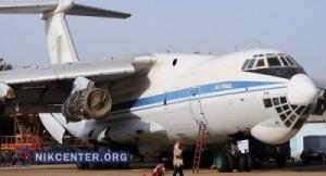 На украинском Ил-76, сломавшемся в Индии, стояли контрафактные детали
