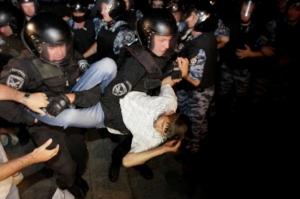 Разгон студентов на Майдане был заранее спланирован - Гриценко