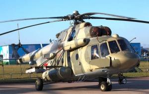 НГУ презентовала уникальный вертолет МИ8-МТВ1 для возвращения раненных из зоны АТО