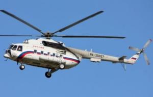 На границе с Крымом пограничники зафиксировали полеты 4 российских вертолетов