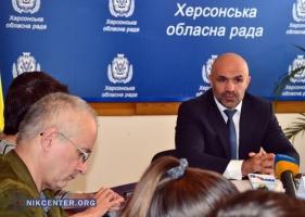 Новый председатель Херсонского облсовета хочет нарушать законодательство о труде