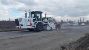 На трассе «Николаев-Днепропетровск» начались ремонтные работы