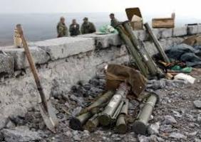 Боевики обстреливают позиции украинских военных из «Градов» и артиллерии, - штаб