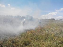 Только за сутки пожарные 9 раз ликвидировали огонь в Николаевской области