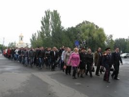 В Николаеве праздник Покрова отметили казачьим шествием