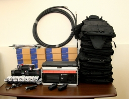 Николаевским пиротехникам, которые занимаются разминированием Славянска, доставили спецоборудование
