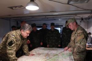 Порошенко поручил сообщить ОБСЕ о нарушении боевиками Минских договоренностей