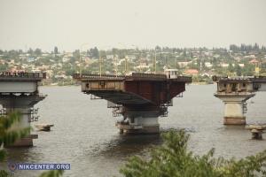 В Николаеве развели мосты