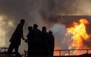 В Афганистане столкнулись автобус и бензовоз. Погибло более 50 человек