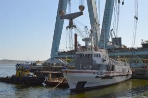 В Николаев зашел на ремонт военный санитарный катер «Сокаль»