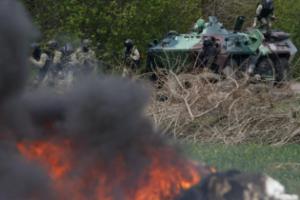 В Авдеевке около часа длился бой между силами АТО и террористами – штаб