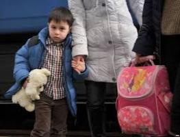 112 переселенцев из Донбасса вынуждено покидают Украину