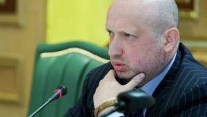 Турчинов не исключает рассмотрение вопроса о введении военного положения из-за ситуации на Донбассе