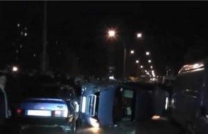 Пьяный «в доску» водитель устроил на Николаевщине масштабное ДТП
