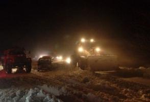 В застрявшем в снежных заносах автобусе на трассе Николаев–Херсон умерла пассажирка