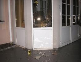 В Ровно под зданием областной прокуратуры прогремел взрыв