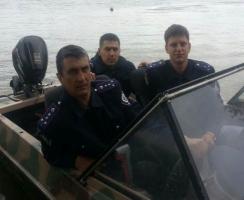 Херсонские милиционеры спасти от верной смерти пять человек, в том числе - двоих детей