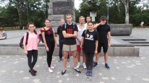Патриотическая молодежь Одессы пробежала «Марафон здоровой нации»
