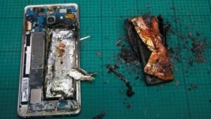 Из-за массовых самовозгораний Samsung прекратил производство Galaxy Note 7