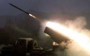 Ночью боевики применили целый арсенал оружия против сил АТО