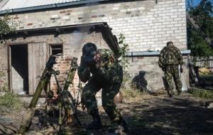 За минувшие сутки cепаратисты 35 раз обстреляли позиции сил АТО