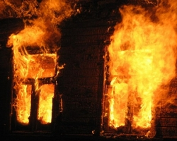В результате пожара на Николаевщине погибла женщина