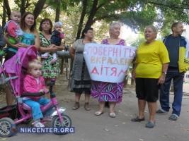 Николаевцы требуют вернуть детский сад в собственность города